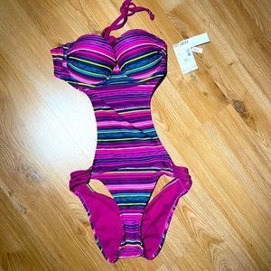 Bongo one piece swimsuit new with tags